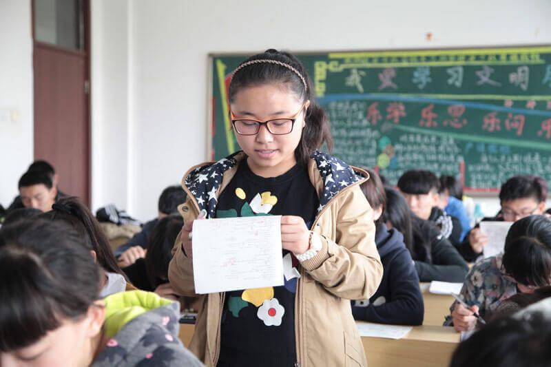 山东2016春季高考 学生天地展示图片